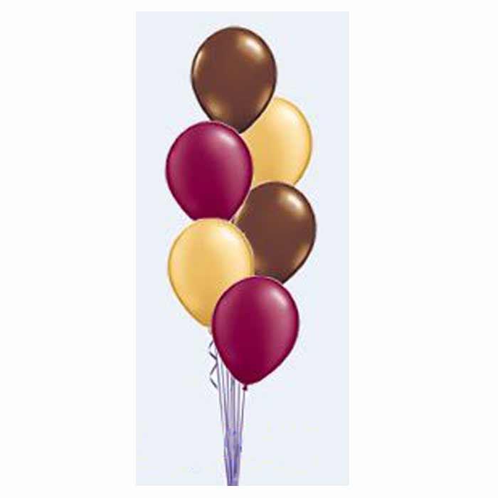 Centro de Mesa - 6 Balões em cascata