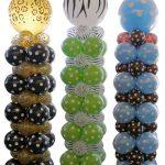 Coluna de Balões com balão no topo
