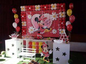 Decoração com temas - Minnie - Formiga Animada