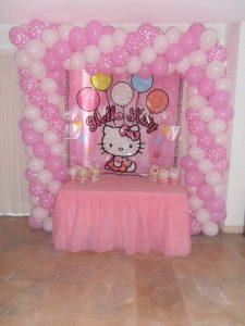 Decoração com temas - Hello Kitty - Formiga Animada