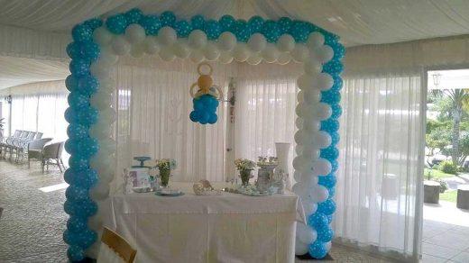 Arco em balões para Baptizados Algarve, decoração de batizados, decoração de batizados Algarve