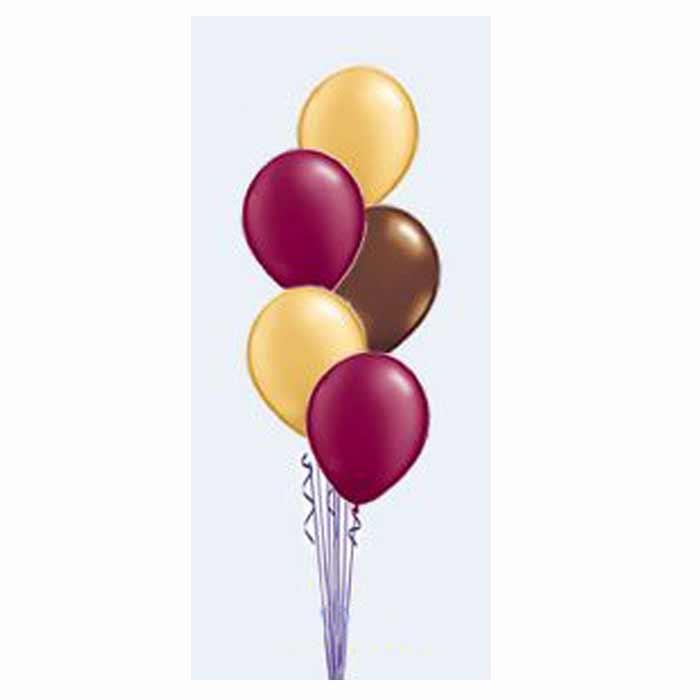 Centro de Mesa - 5 Balões em cascata