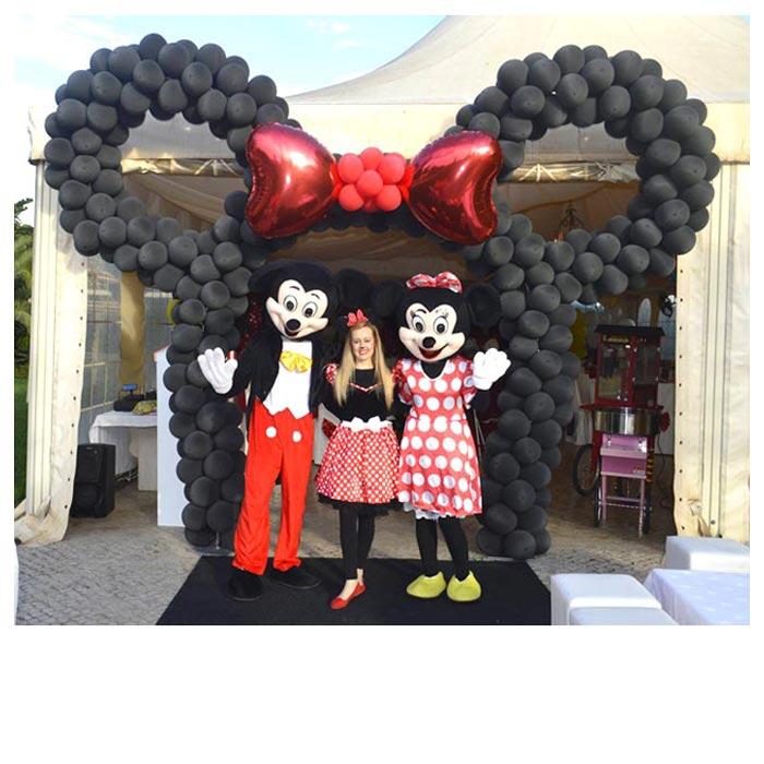 Arco em Balões Mickey - Formiga Animada