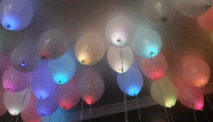 Balões com led Algarve, largada de balões para casamentos Algarve